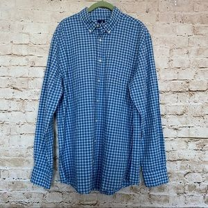 Johnnie-o Sz L Dunmore Classic Fit Checked Shirt